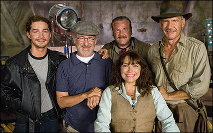 cast and crew of Indiana Jones