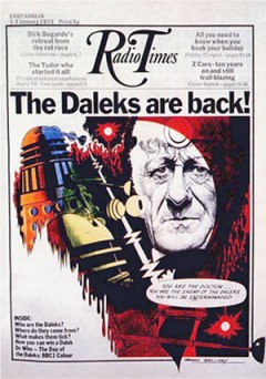 Radio Times Dalek cover from the 1970s