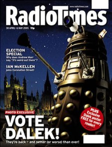Radio Times Dalek cover from the 2000s